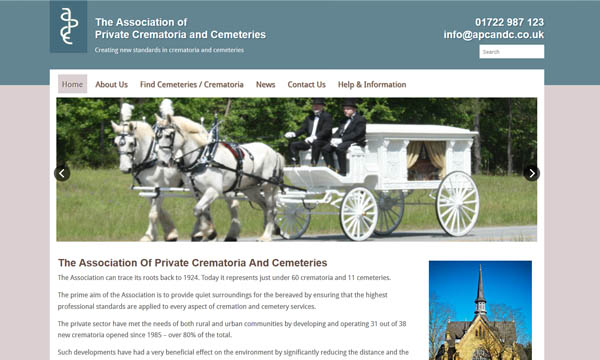 The Association Of Private Crematoria And Cemeteries