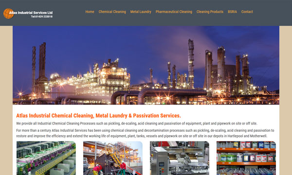 Atlas Industrial Chemical Cleaning Company