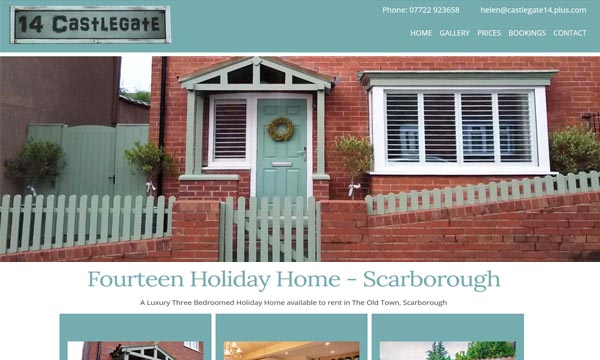 14 Castlegate, Scarborough, Holiday Home Website