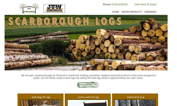 Scarborough Logs Website